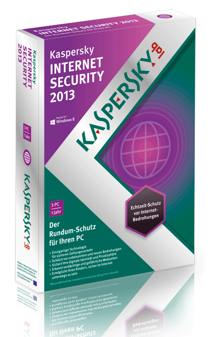 Kaspersky Internet Security 2013 Lizenzen