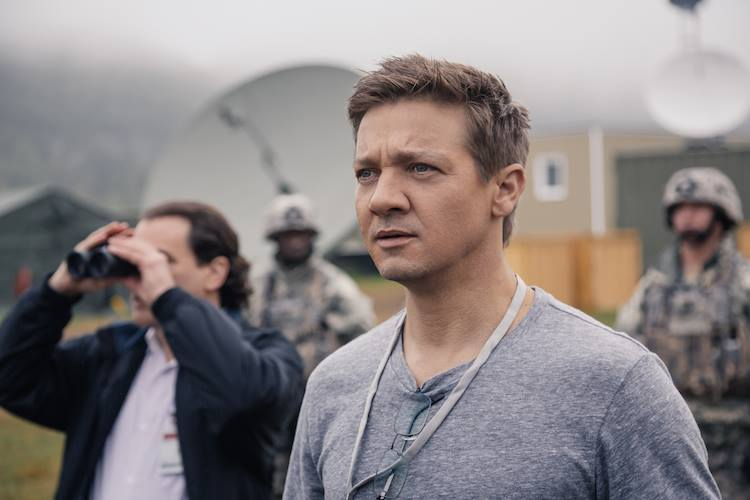 Jeremy Renner spielt Ian Donnelly in Arrival |© Sony Pictures Germany