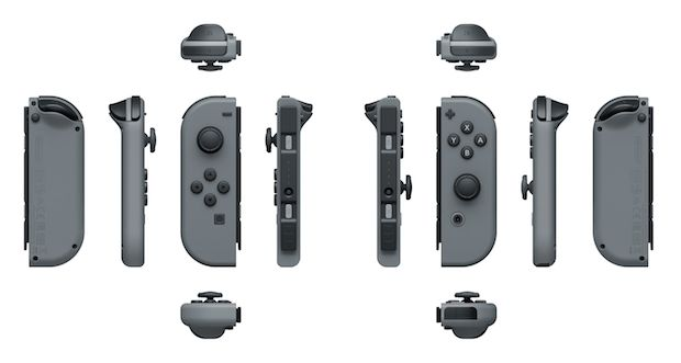Nintendo Switch Joy-Con - Quelle: Presseseite Nintendo