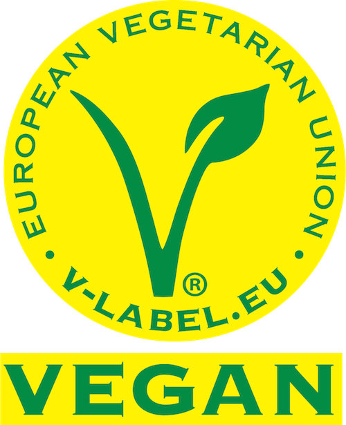 Offizielles Vegan-Siegel | Quelle: www.v-label.eu